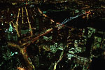 New-York City - Manhattan night view from top of World Trade Center