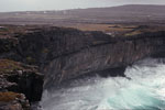 Inishmore - See onslaught on an Aran island cliff