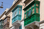 Sliema - Bow-windows