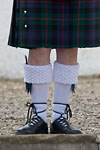Blair Castle - Scottish kilt and knife