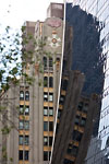 New-York City - Curtiss-Wright Building reflecting on Solow Building (57th Street)