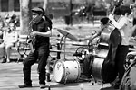 New-York City - Groupe de Jazz (Washington Square)